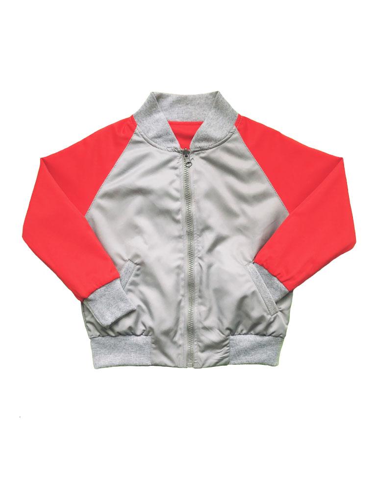 Bomber-roja-y-gris-niño-lado1