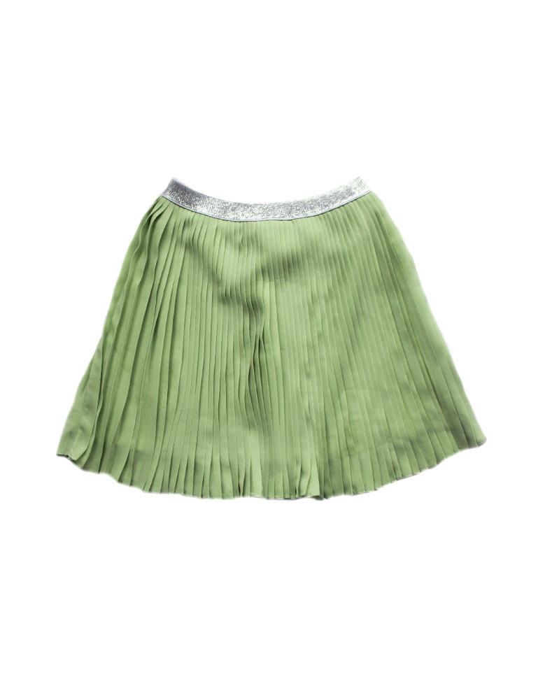 Falda-Plisada-Verde