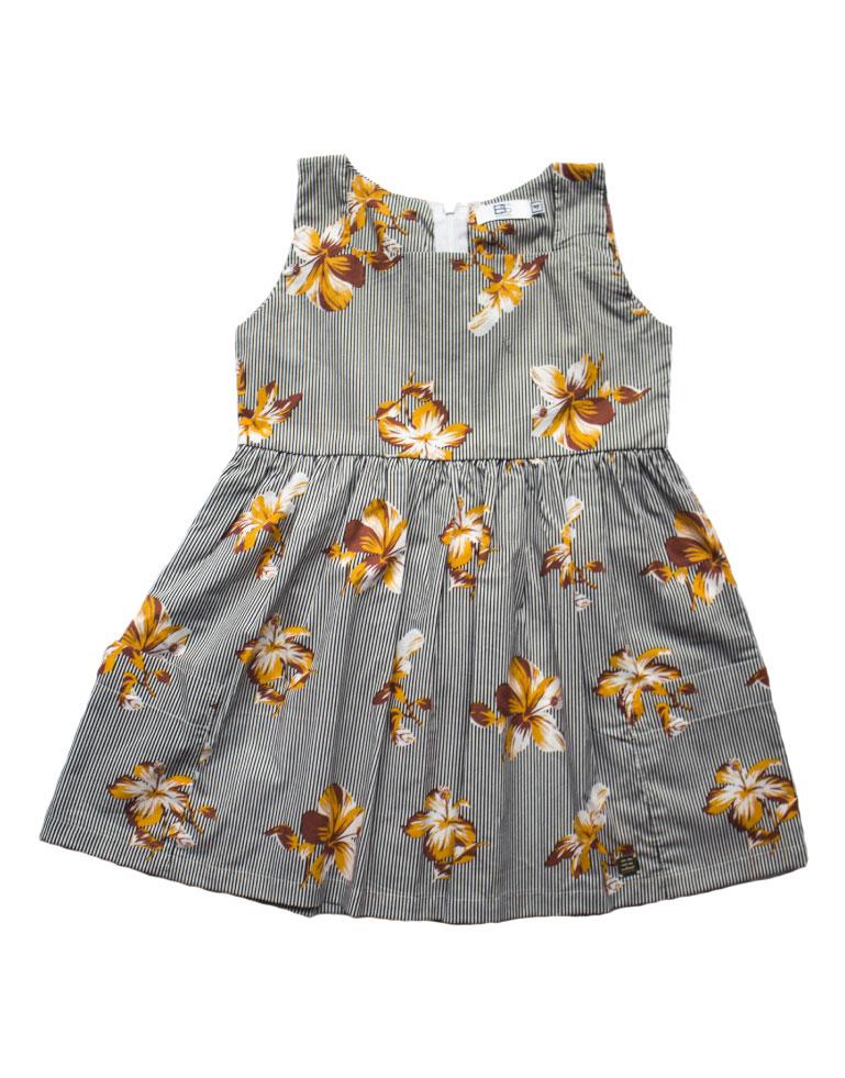 Vestido-rayas-y-flores-amarillas