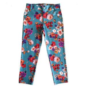 Pantalon floreado